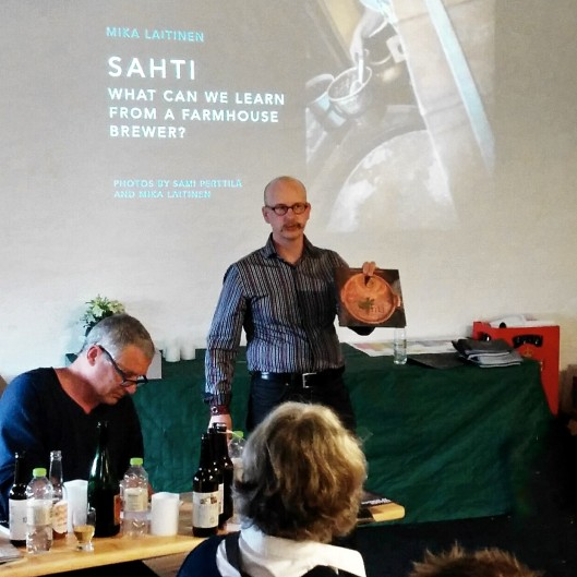 Esitelmäni sahdista Ny Nordisk Øl konferensissa