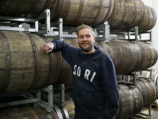 Sori Brewing toinen perustajajäsen, Heikki Uotila